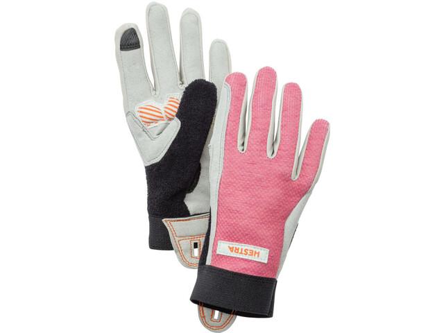 Hestra Bike Guard Gloves Jr Long Barn rosa